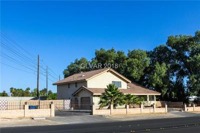 Las Vegas Single Family Home For Sale: 4665 Sandhill Road