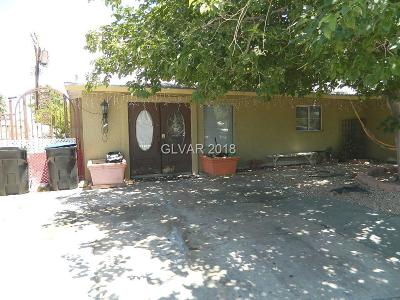 Las Vegas Single Family Home For Sale: 2105 Beverly Way
