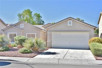 North Las Vegas Single Family Home For Sale: 3902 Champagne Wood Drive