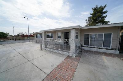 Las Vegas Single Family Home For Sale: 1204 Eastern Avenue