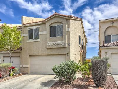 North Las Vegas Condo/Townhouse For Sale: 3355 Sparrow Heights Avenue