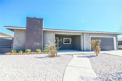Las Vegas Single Family Home For Sale: 3800 San Angelo Avenue