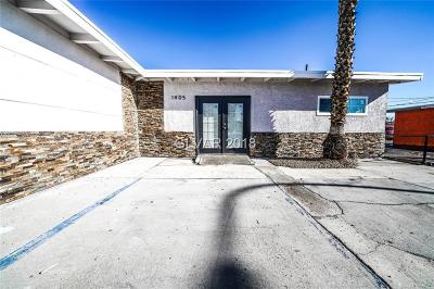 Las Vegas Single Family Home For Sale: 1405 South Eastern Avenue