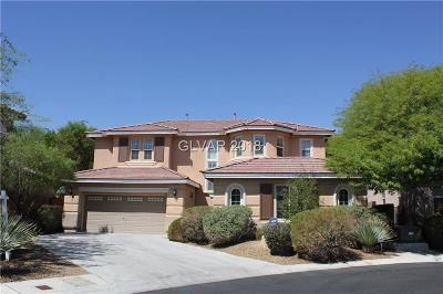 Las Vegas Single Family Home For Sale: 10491 Brown Wolf Street