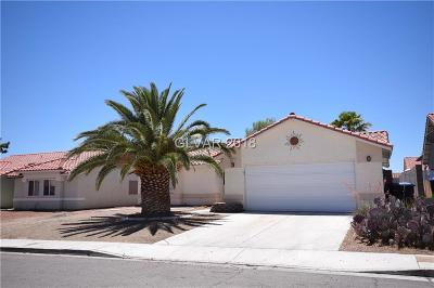 North Las Vegas Single Family Home For Sale: 601 Willowick Avenue