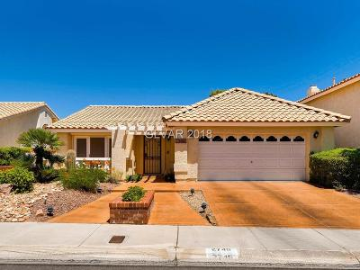 Las Vegas Single Family Home For Sale: 2740 Quail Roost Way