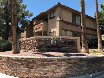 Las Vegas Condo/Townhouse For Sale: 7300 West Pirates Cove Road #1090
