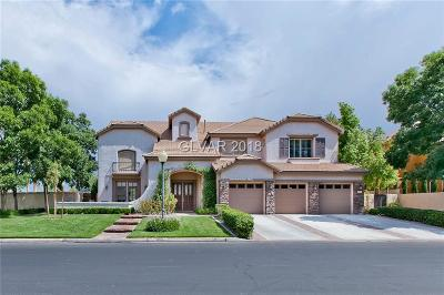 Las Vegas Single Family Home For Sale: 1500 Castle Wall Street