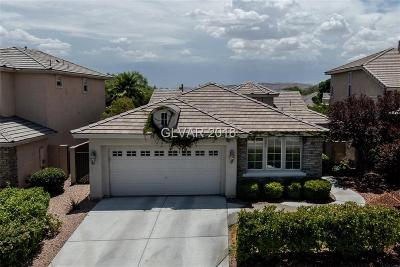 Las Vegas Single Family Home Contingent Offer: 10261 Early Morning Avenue