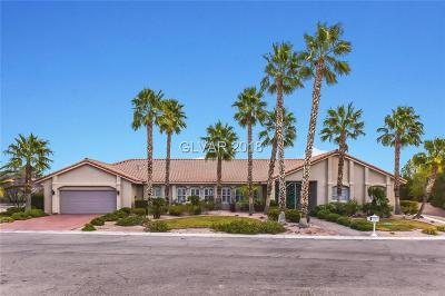 Las Vegas NV Single Family Home For Sale: $865,000
