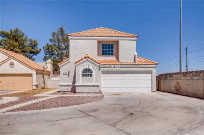 Las Vegas NV Single Family Home For Sale: $289,000