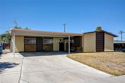 Las Vegas Single Family Home For Sale: 3100 Kings Way