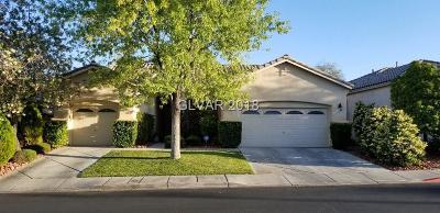 Las Vegas Single Family Home For Sale: 10705 Arundel Avenue