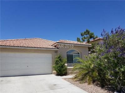 Las Vegas Single Family Home For Sale: 5525 Sterling Valley Court