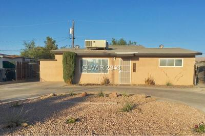 North Las Vegas Single Family Home For Sale: 2732 Magnet Street
