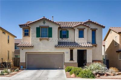 North Las Vegas Single Family Home For Sale: 1918 Silver Crest Court