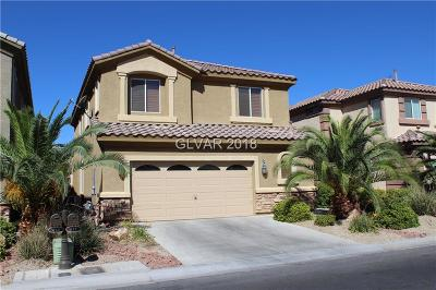 Las Vegas Single Family Home For Sale: 347 Foster Springs Road