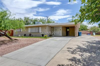 Las Vegas NV Single Family Home For Sale: $259,000