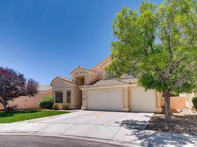 Las Vegas Single Family Home For Sale: 1805 Placid Ravine Street