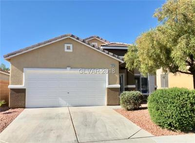 Las Vegas NV Single Family Home Under Contract - No Show: $249,900