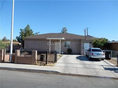 North Las Vegas NV Single Family Home For Sale: $204,990