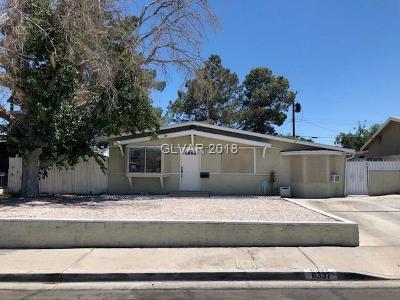 Las Vegas NV Single Family Home For Sale: $239,900