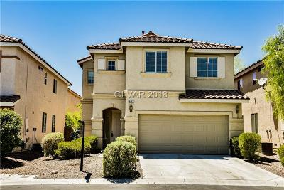 Las Vegas Single Family Home For Sale: 6167 New Sky Court