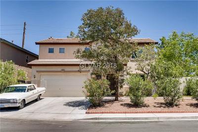 North Las Vegas Single Family Home For Sale: 3820 Wisteria Shade Avenue