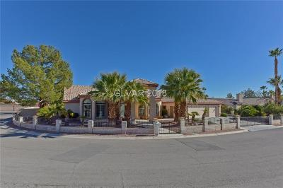 Las Vegas Single Family Home For Sale: 3245 Tenaya Way