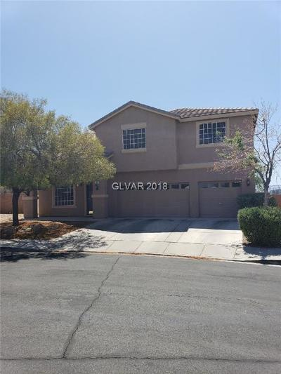 Las Vegas Single Family Home For Sale: 827 Happy Sparrow Avenue