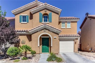 Las Vegas NV Single Family Home Under Contract - No Show: $264,000
