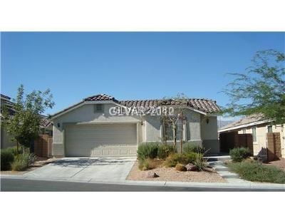 North Las Vegas Single Family Home For Sale: 4712 Silverwind Road