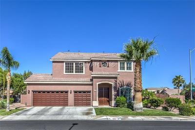 Las Vegas Single Family Home For Sale: 6216 Old Tradition Street