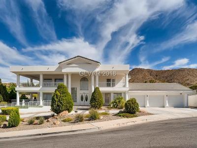 Boulder City Single Family Home Under Contract - No Show: 834 Temple Rock Court