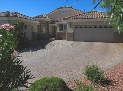 Las Vegas Single Family Home For Sale: 8562 Indian Run Falls Lane