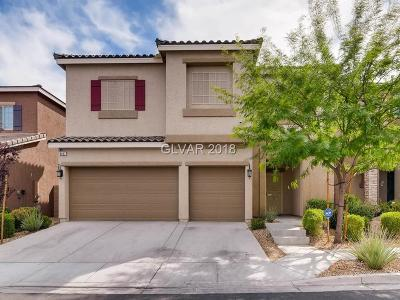 Las Vegas Single Family Home For Sale: 8097 Smoking Jacket Place