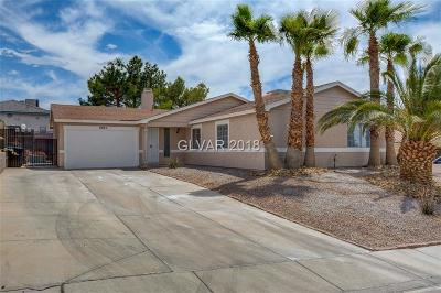 Las Vegas Single Family Home For Sale: 6963 Adelaide Avenue