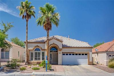 Henderson Single Family Home For Sale: 86 Desert Rain Lane