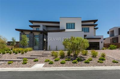 Boulder City, Henderson, Las Vegas, North Las Vegas Single Family Home For Sale: 32 Morning Glow Lane