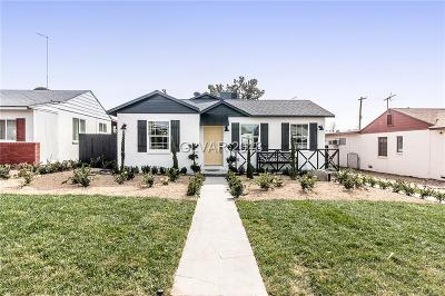 Boulder City Single Family Home Under Contract - No Show: 627 G Avenue