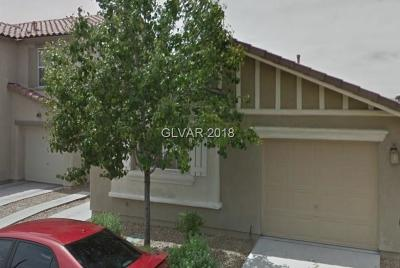 Las Vegas Single Family Home Under Contract - No Show: 1299 Sweet Orange Street