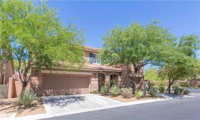 Las Vegas Single Family Home For Sale: 10455 Brown Wolf Street