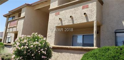 Las Vegas Condo/Townhouse For Sale: 7300 Pirates Cove Road #2098