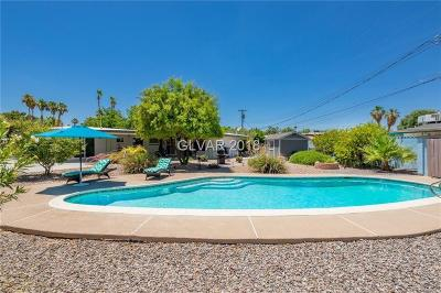 Las Vegas Single Family Home For Sale: 3178 Camel Back Drive