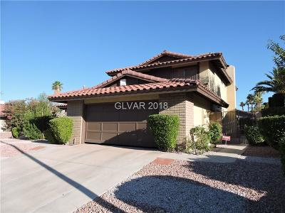 Las Vegas Single Family Home For Sale: 5235 Hibbetts Drive