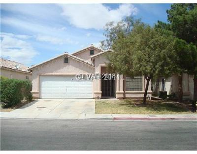 Las Vegas Single Family Home For Sale: 823 Painted Vista Avenue