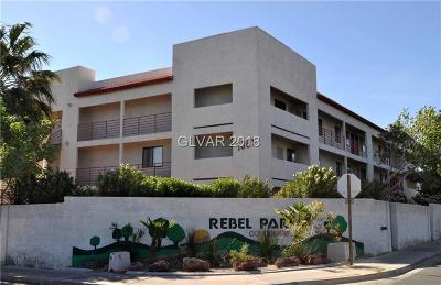 Las Vegas Condo/Townhouse For Sale: 1381 East University Avenue #207