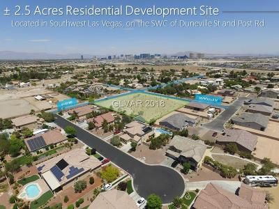 Las Vegas Residential Lots & Land Under Contract - Show: Post & Duneville