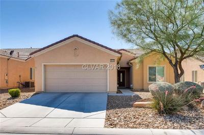 North Las Vegas Single Family Home For Sale: 3516 Flinthead Drive