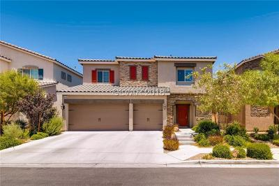 Las Vegas Single Family Home For Sale: 8140 Smoking Jacket Place